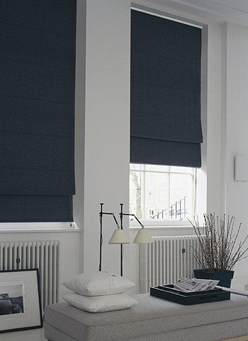 Domestic roman blinds